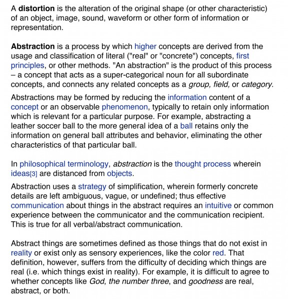 Microsoft Word - distortion vs abstraction.doc